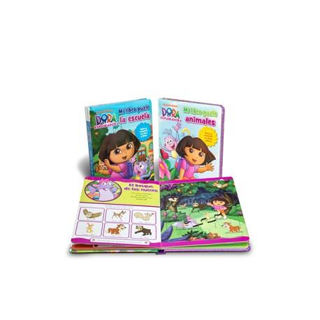 Libro Puzle: Dora la exploradora: Mi libro puzle de animales