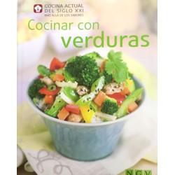 Cocina con verduras