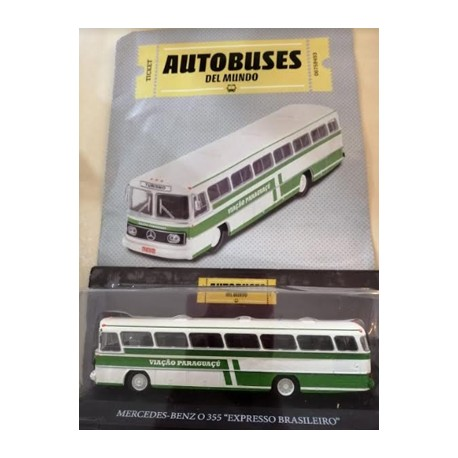 Buses de todo el mundo   Mercedes Benz 355 - Expresso Brasileiro