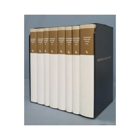 Tratados Hipocráticos Tomos: I, II, III, IV, V, VI, VII, VIII
