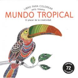 Arte Terapia: Mundo Tropical