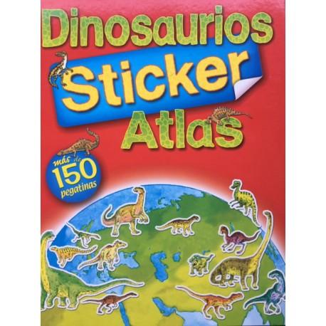 Dinosaurio Atlas 150 Stickers