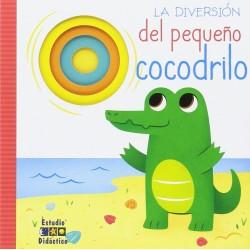 La diversión del pequeño cocodrilo