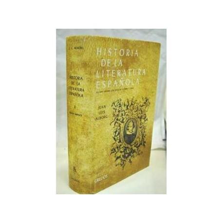 Historia de la literatura española. Época Barroca Tomo II