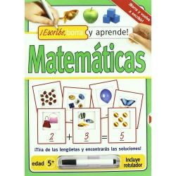 Escribe, borra y aprende Matemáticas!!
