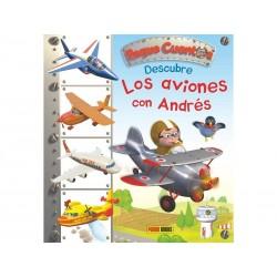 Peque cuentos: Descubre los aviones con Andrés