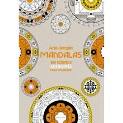 Arte-Terapia, Mandalas: 100 Diseños Antiestrés Para Colorear