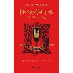 Harry Potter y el cáliz de fuego edición 20° aniversario. Gryffindor