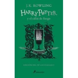 Harry Potter y el cáliz de fuego edición 20° aniversario. Slytherin
