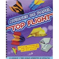 Aviones de papel Top Flight