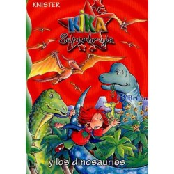 Kika súper bruja y los dinosaurios Caja que contiene libro y reloj de accesorio