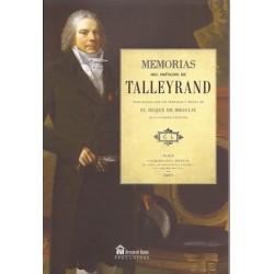 Memorias del príncipe Talleyrand