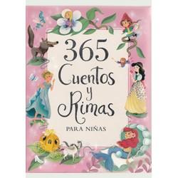 365 Cuentos y Rimas para niñas (Grande)