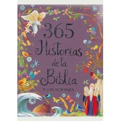 365 Historias de la Biblia y Oraciones (Grande)