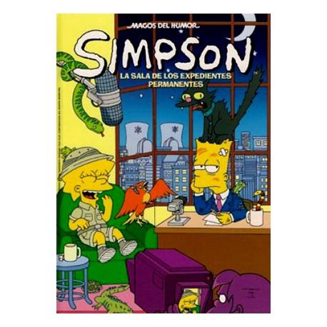 Simpson: La sala de los expedientes permanentes (Comic)