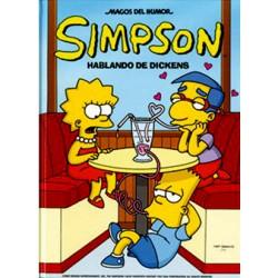 Simpson: Hablando de Dickens (Comic)