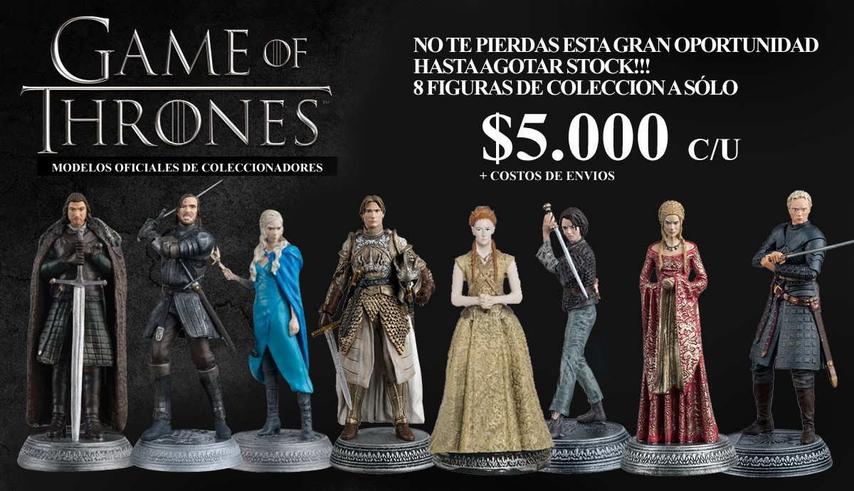 Figuras de Colección Games of Thrones