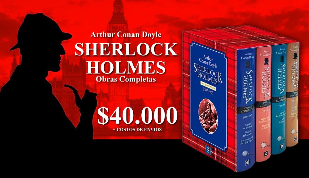 Pack Obras Completas Sherlock Holmes (4 tomos)